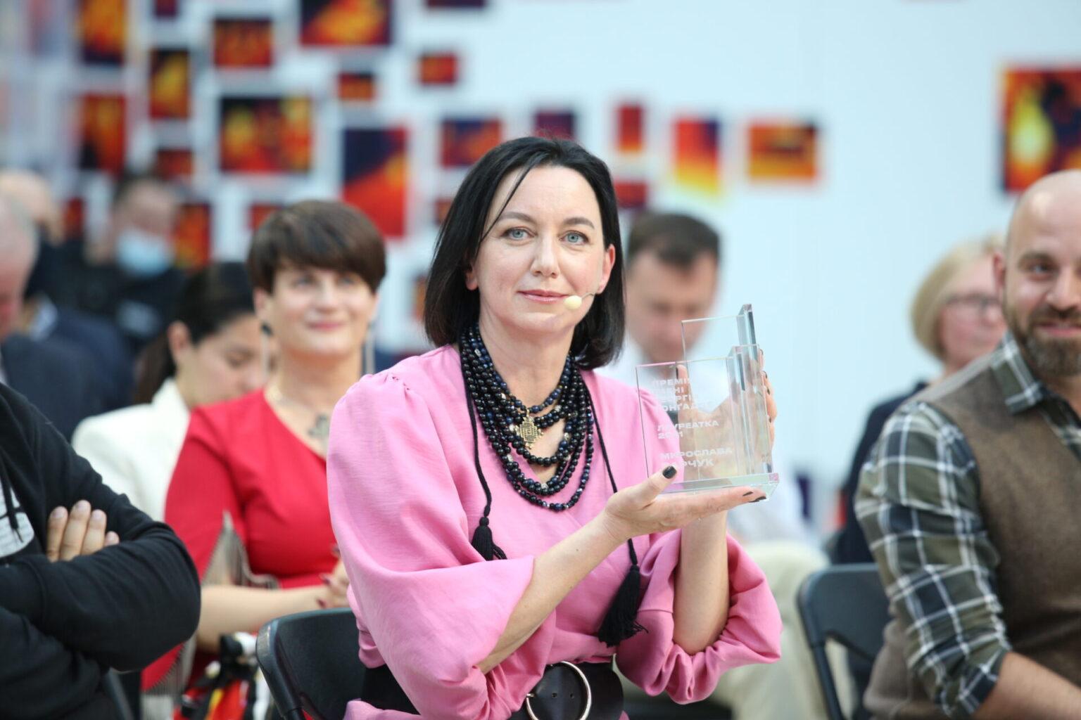 Лауреаткою Премії імені Георгія Ґонґадзе 2021 року стала Мирослава Барчук