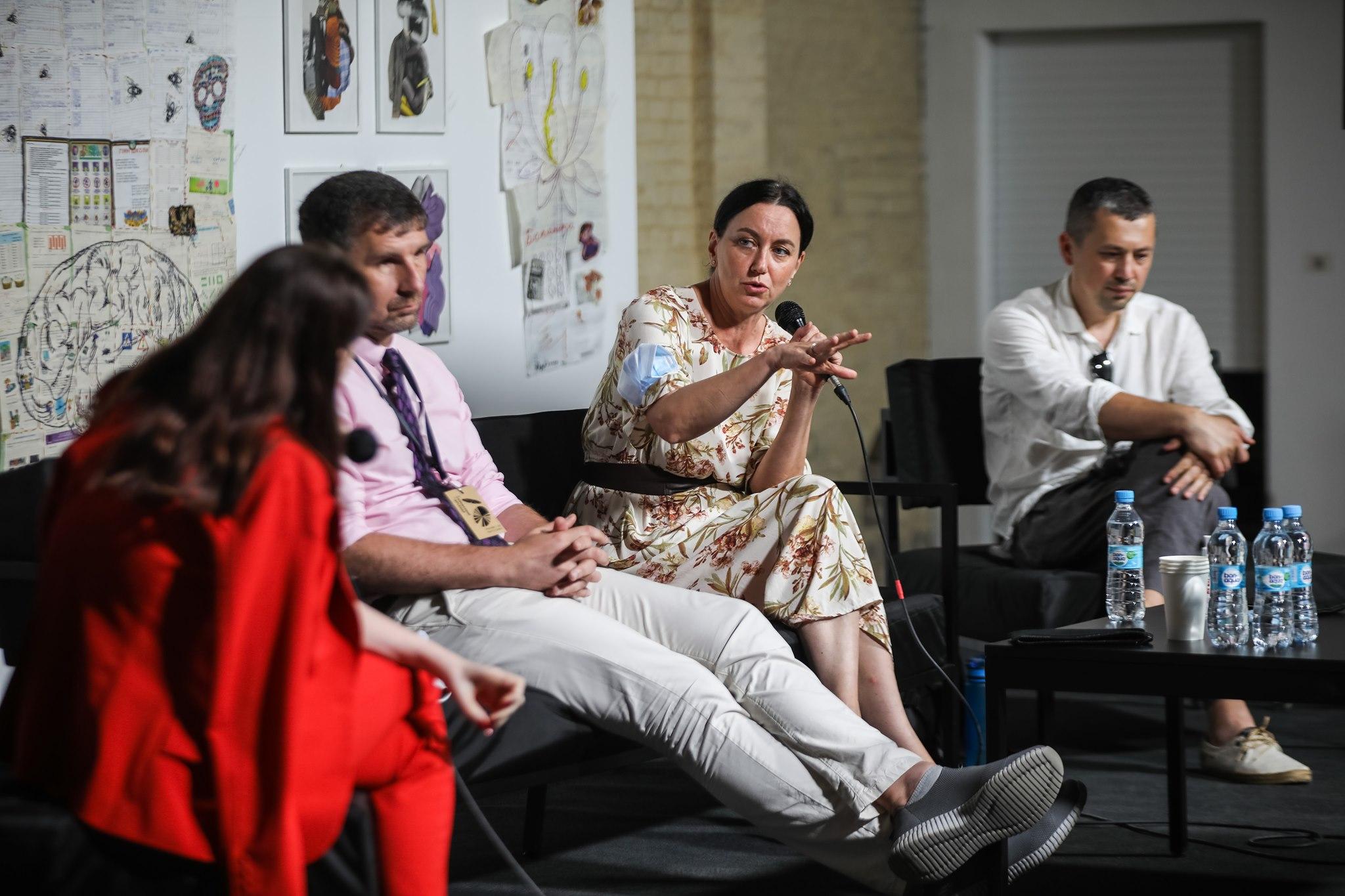 Лауреатка та фіналіст Премії-2021 взяли участь у дискусії на Книжковому Арсеналі