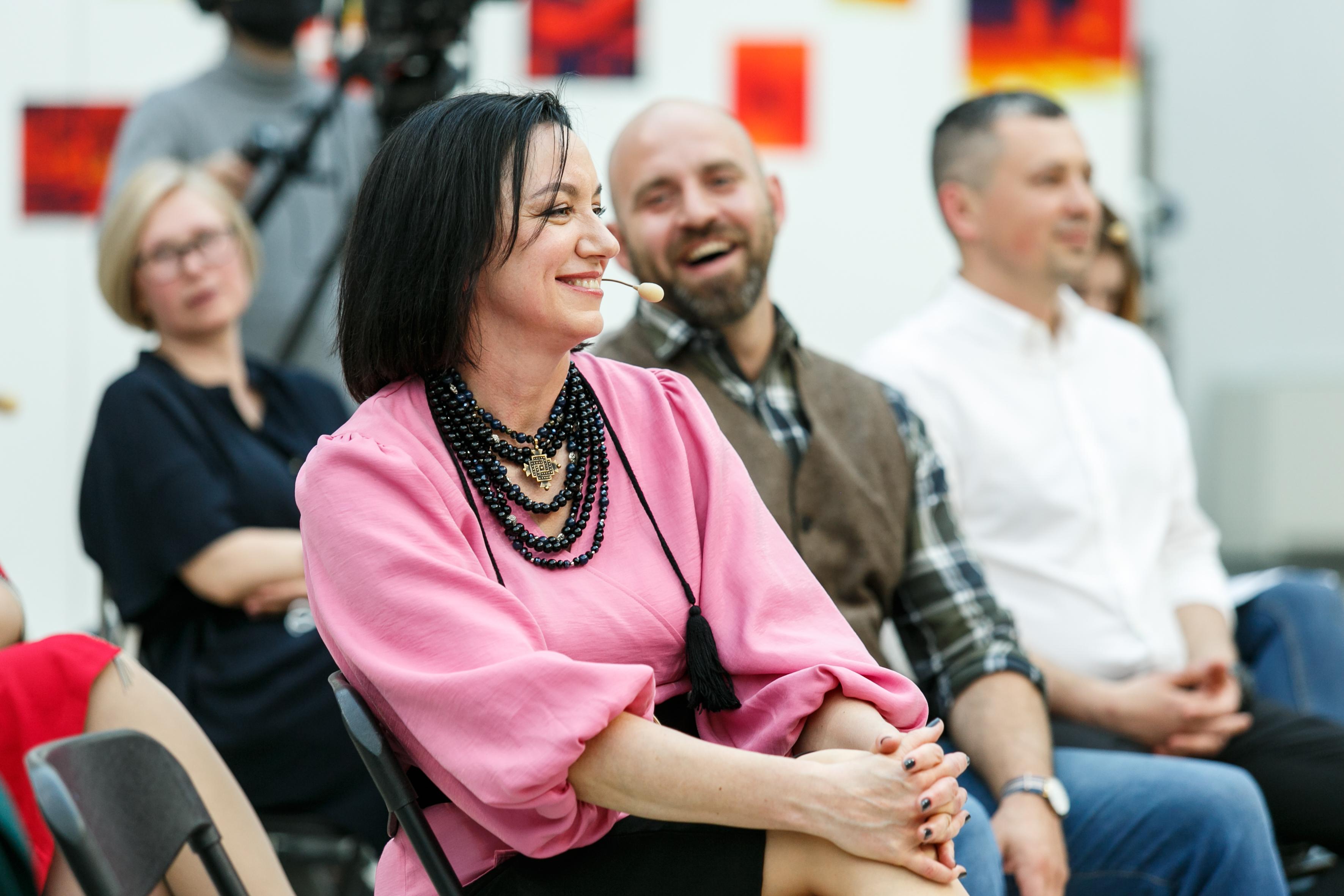 Мирослава Барчук прочитає лекцію в Центрі сучасної культури в Дніпрі